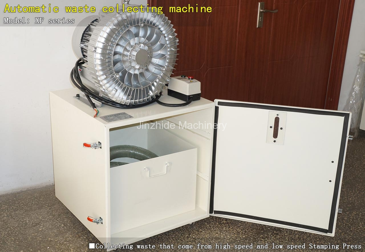Automatic waste collecting machine