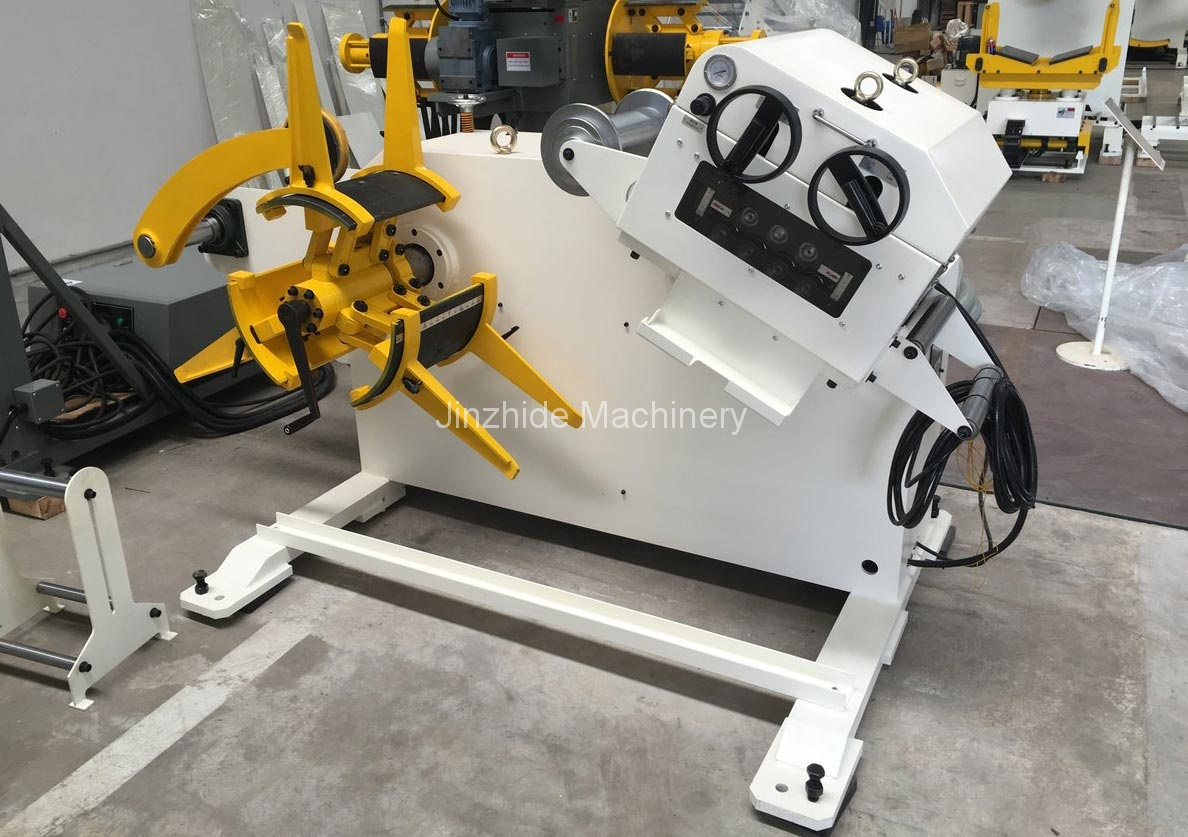 Combined Decoiler Straightener Production