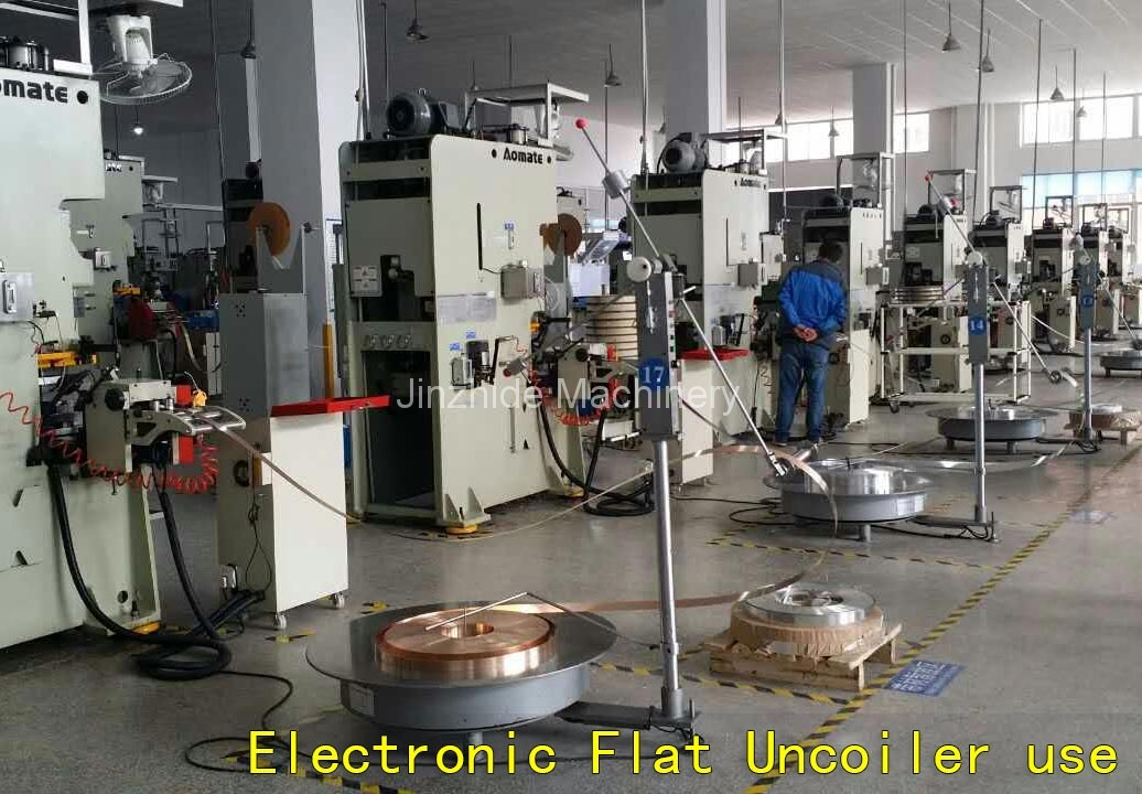 Electronic-Flat-Uncoiler-use