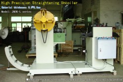 High Precision Straightening Uncoiler