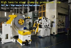 High tensile steel stamping production line