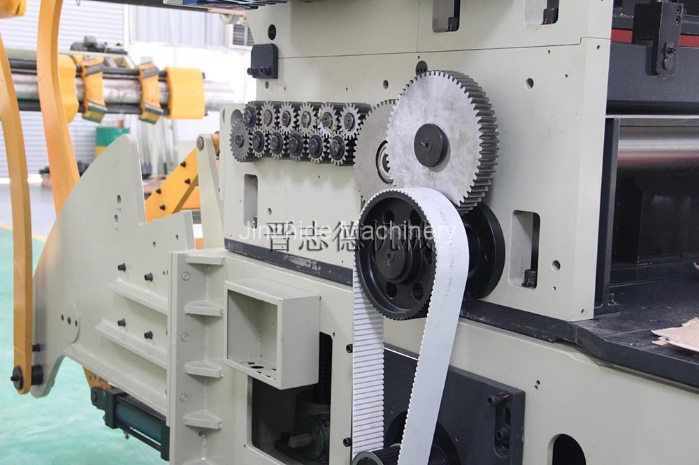 High tension triple feed machine production