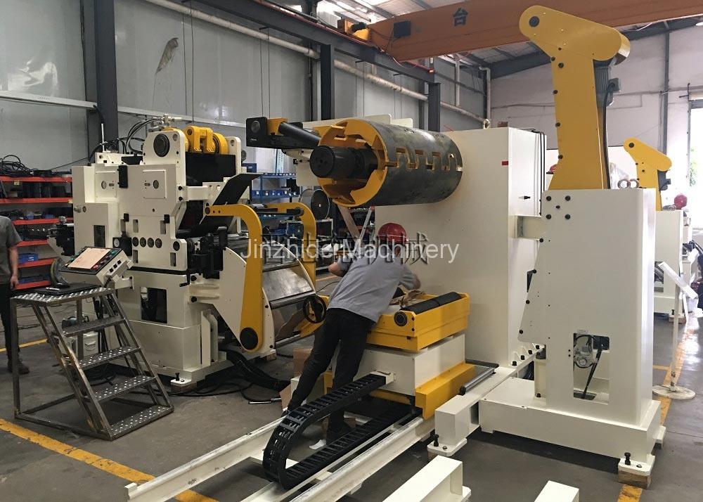 High tension triple feed machine use