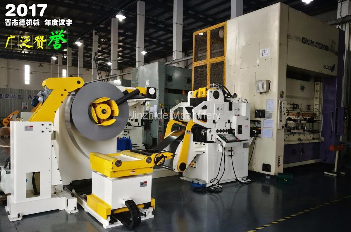 High-tension triple feed machine use