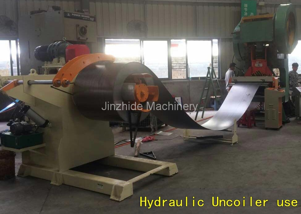 Hydraulic-Uncoiler-use