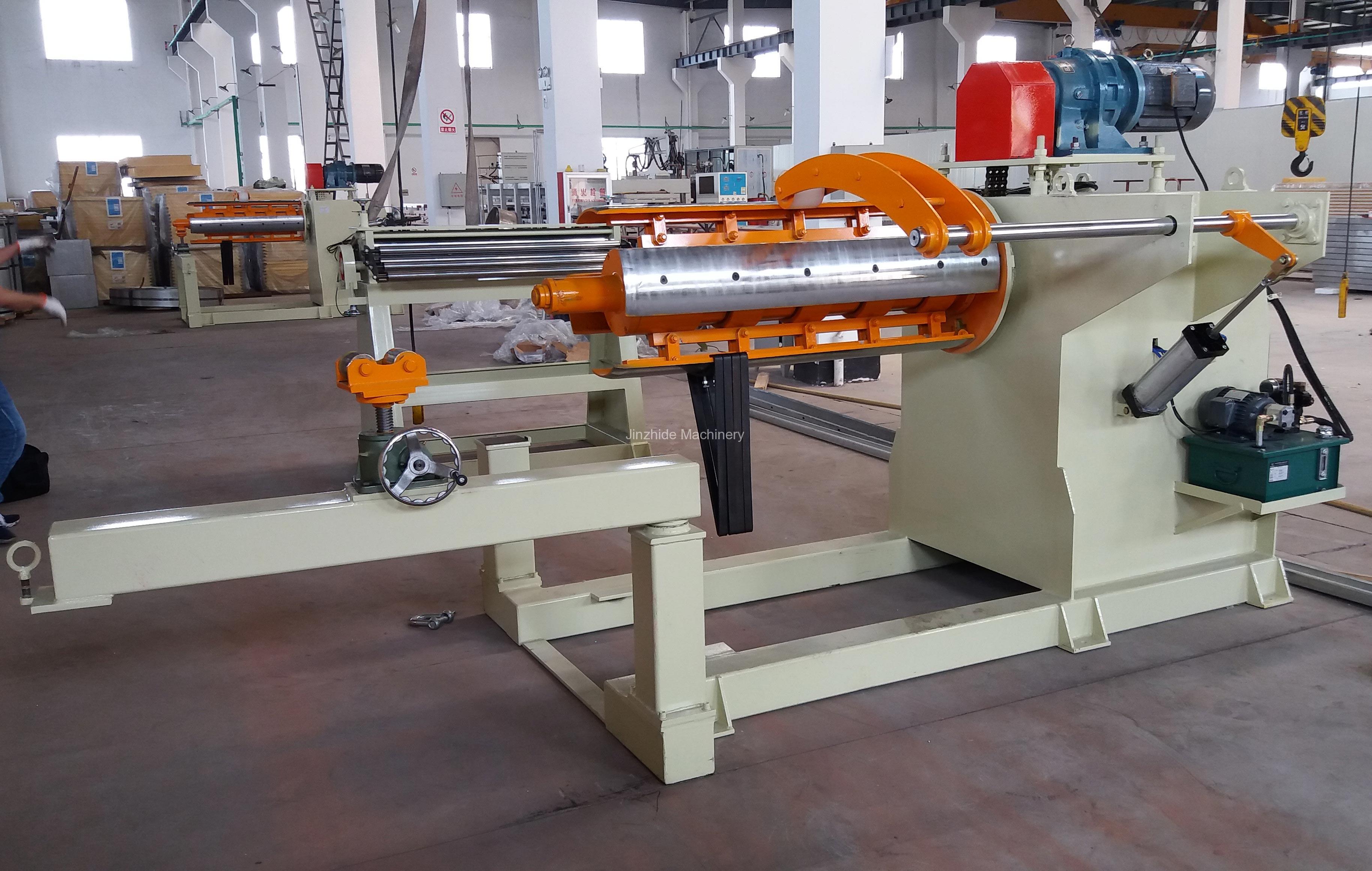 Large Hydraulic Decoiler Machine
