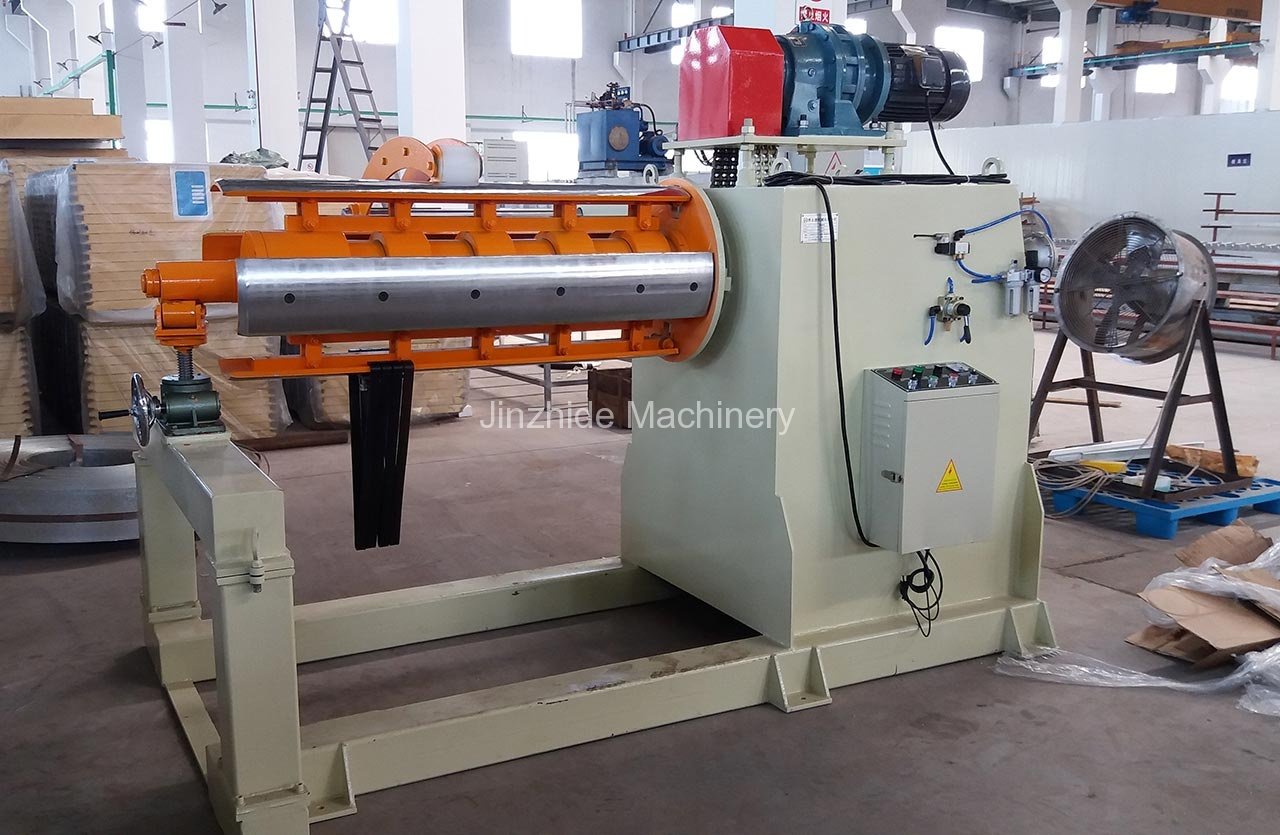 Large Hydraulic Uncoiler