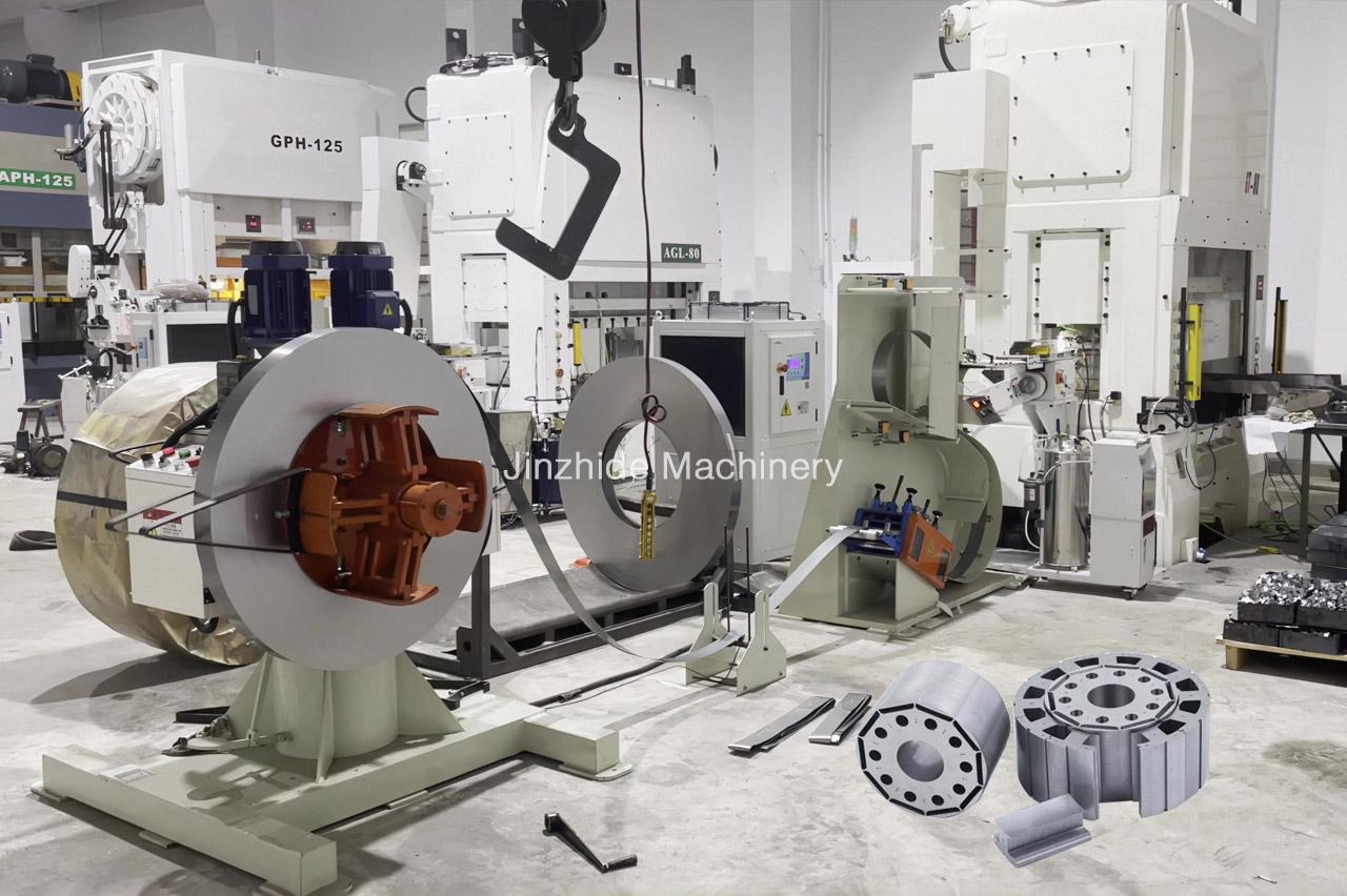 Motor Stator production line