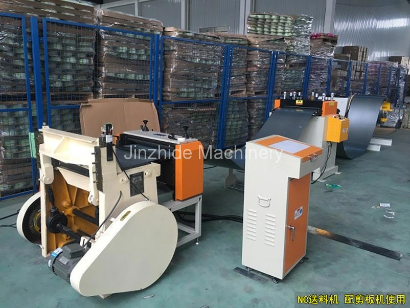 NC Servo feeder with cutting machine
