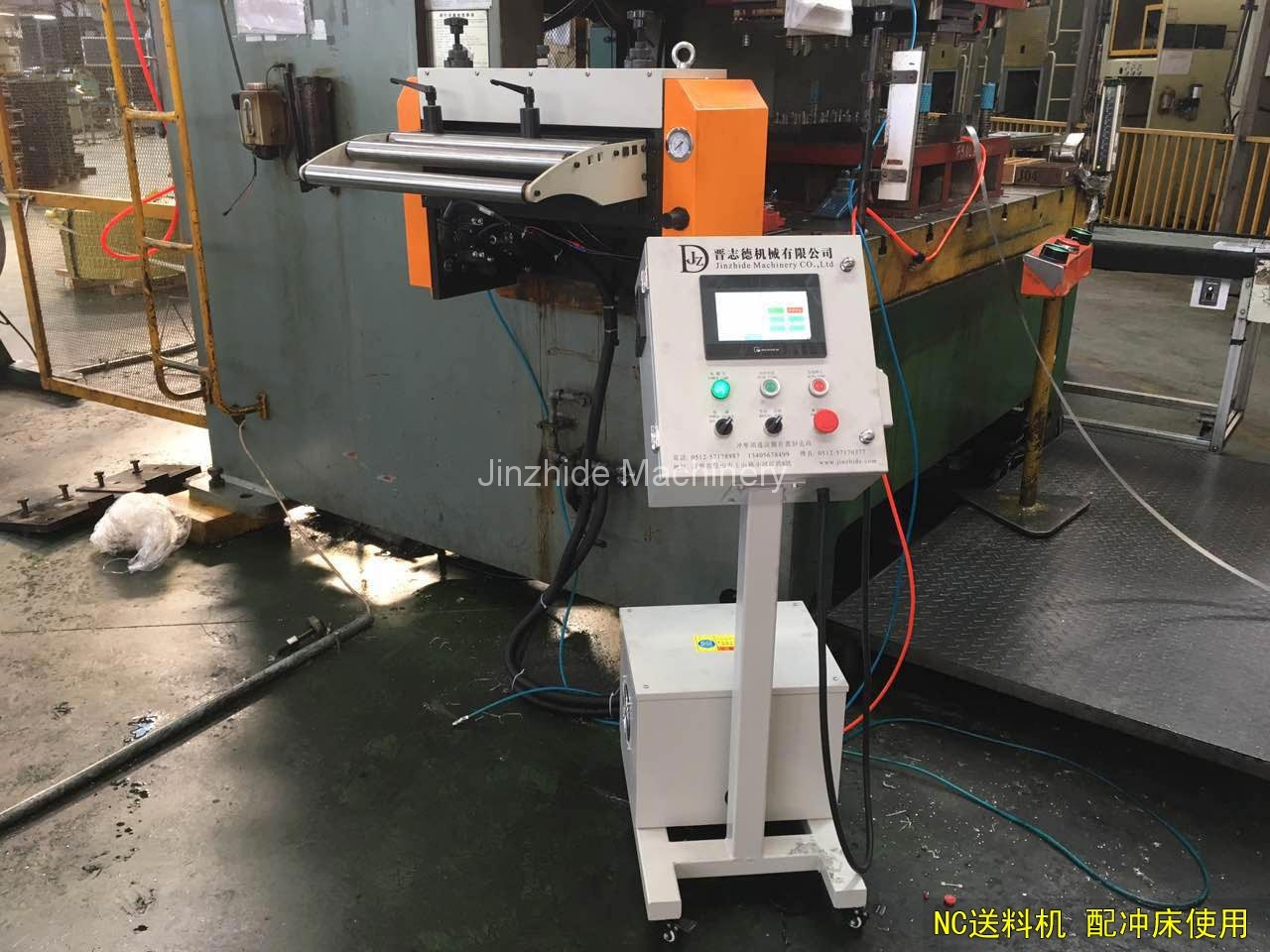 NC Servo feeder with punch press