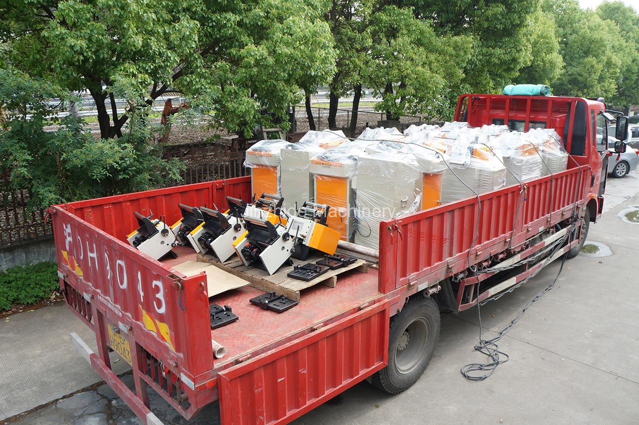 NC servo feeder Delivery
