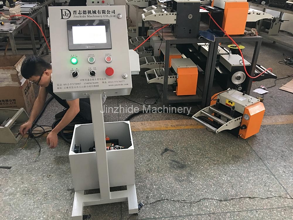 NC servo feeder exported to Russia