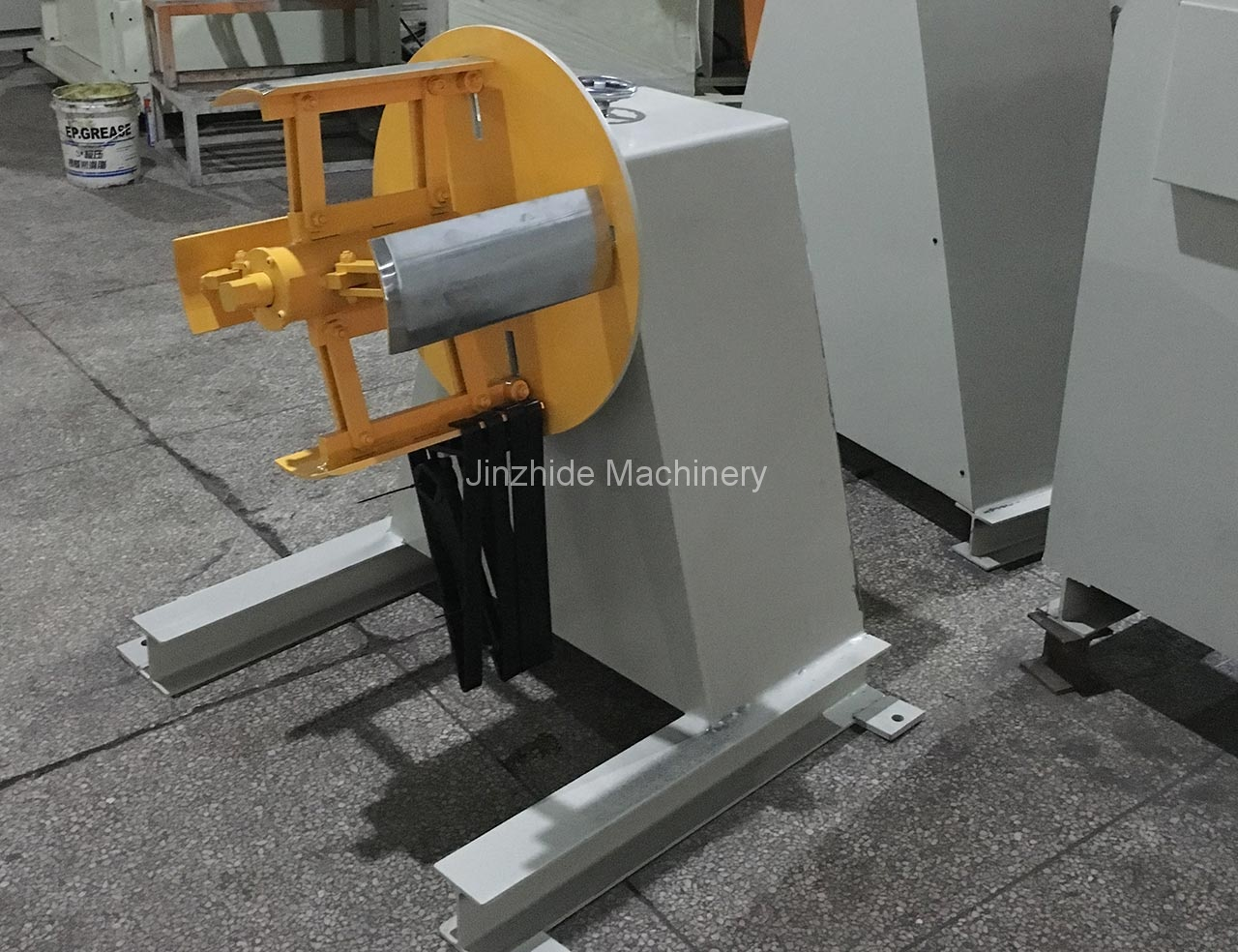No-power-heavy-Uncoiler-Machine