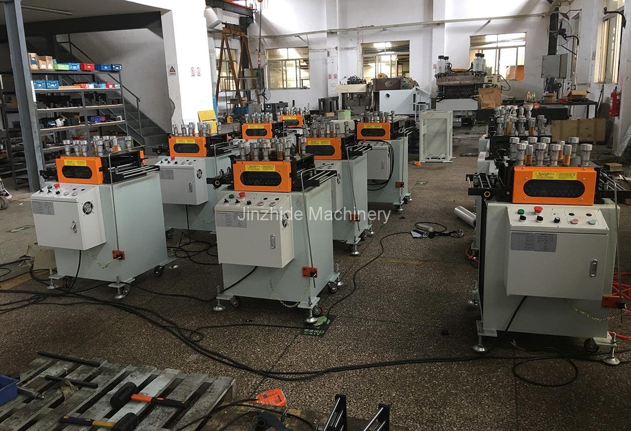 Precision Straightener production