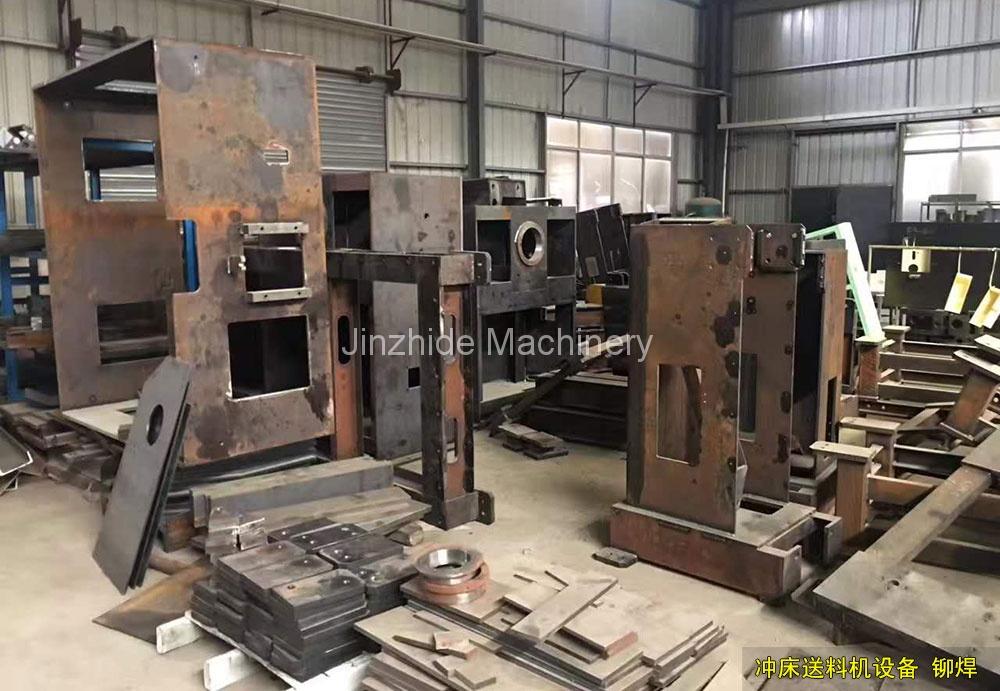 Riveting welding
