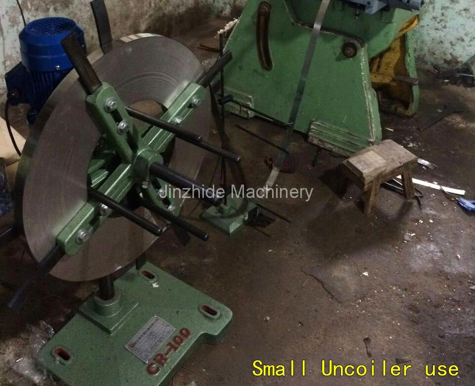 Small-Uncoiler-use
