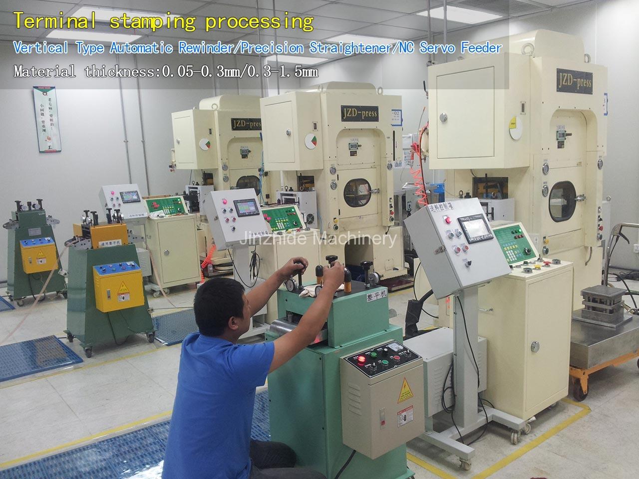 Terminal-stamping-processing