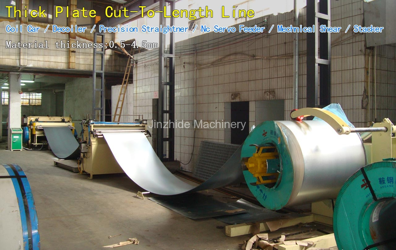 Thick Plate Cut-To-Length Line