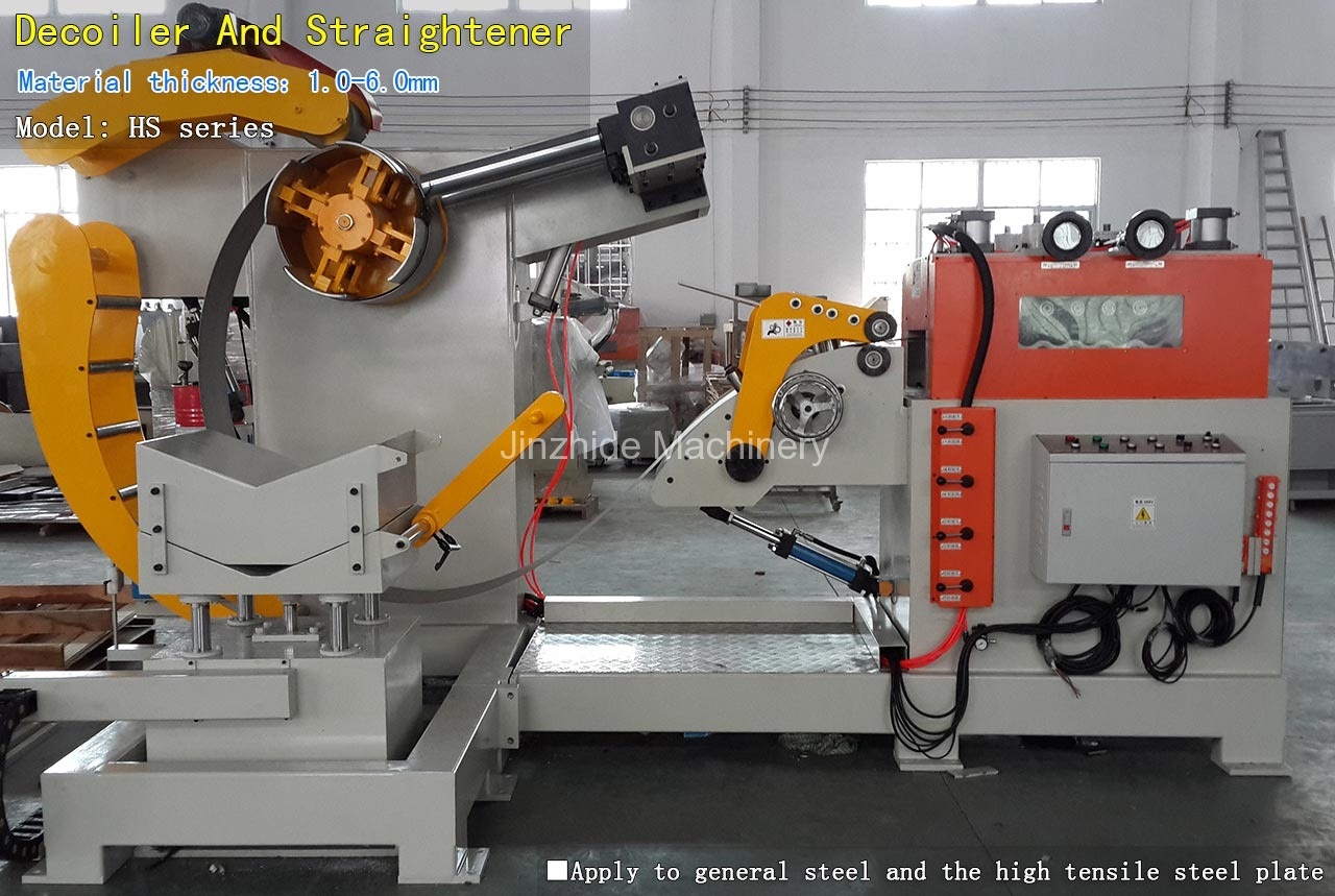 Thick plate Decoiler leveling machine
