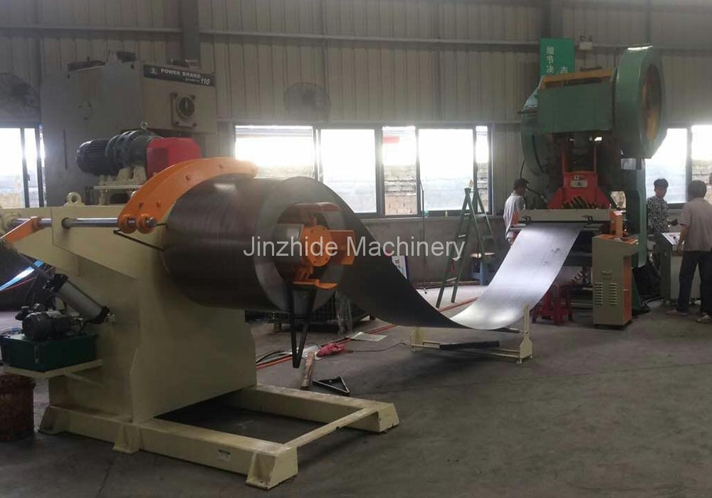Uncoiler-feeder-stamping-production-line