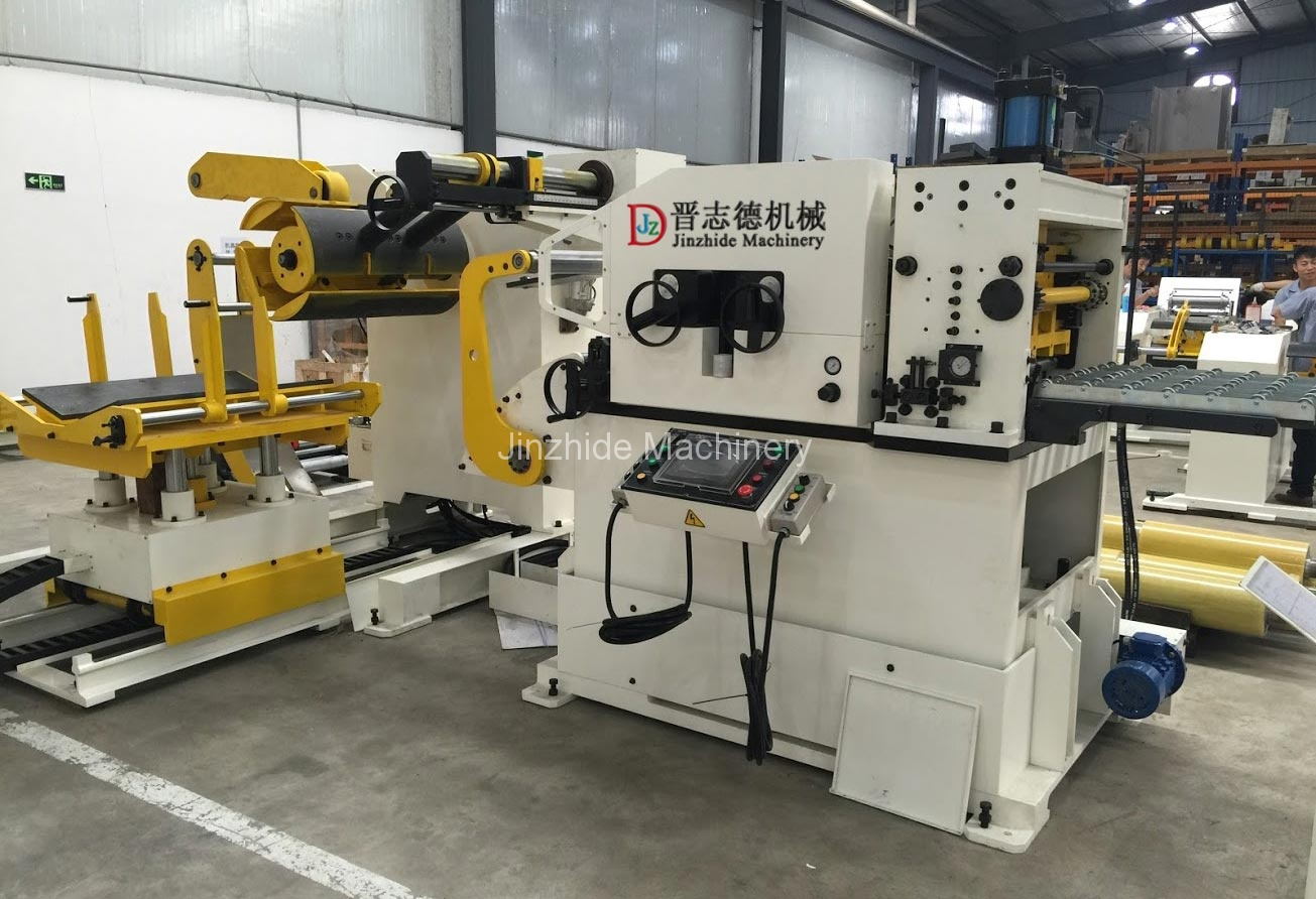 middle plate decoiler straightener feeder