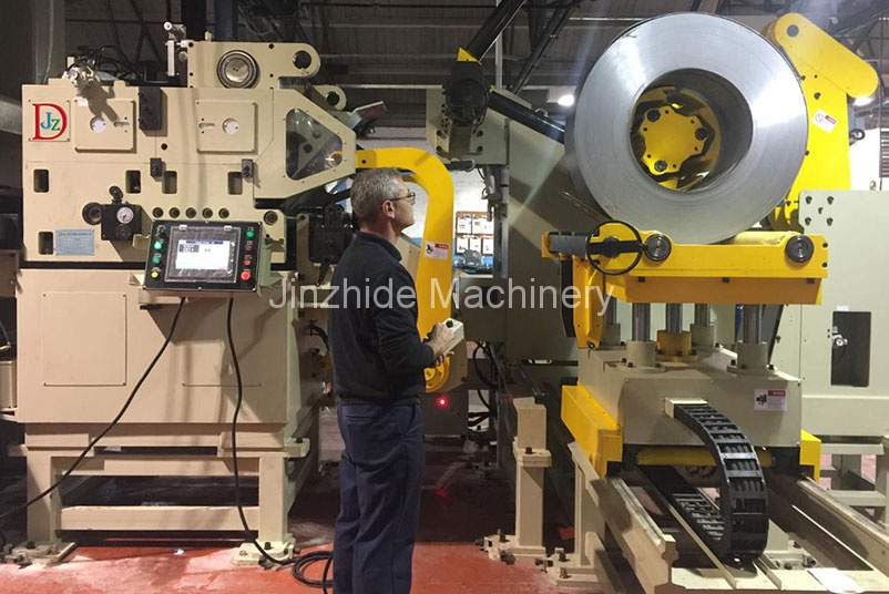 press room automation equipment exported to Germany
