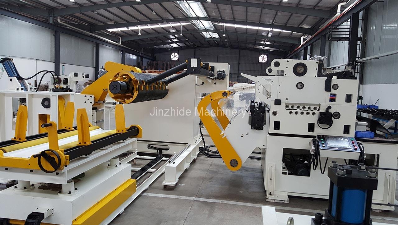 punch feed machine production base