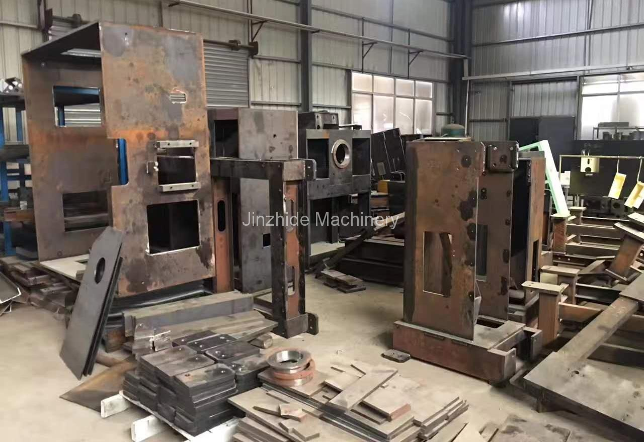 punching machine equipment assembling workers