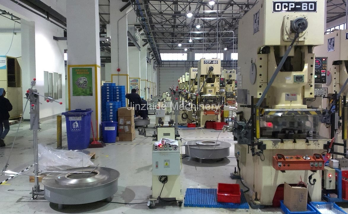 stamping automation production line