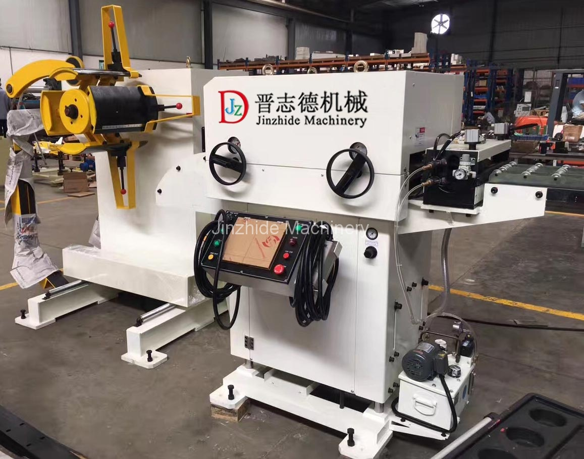 thin plate decoiler straightener feeder
