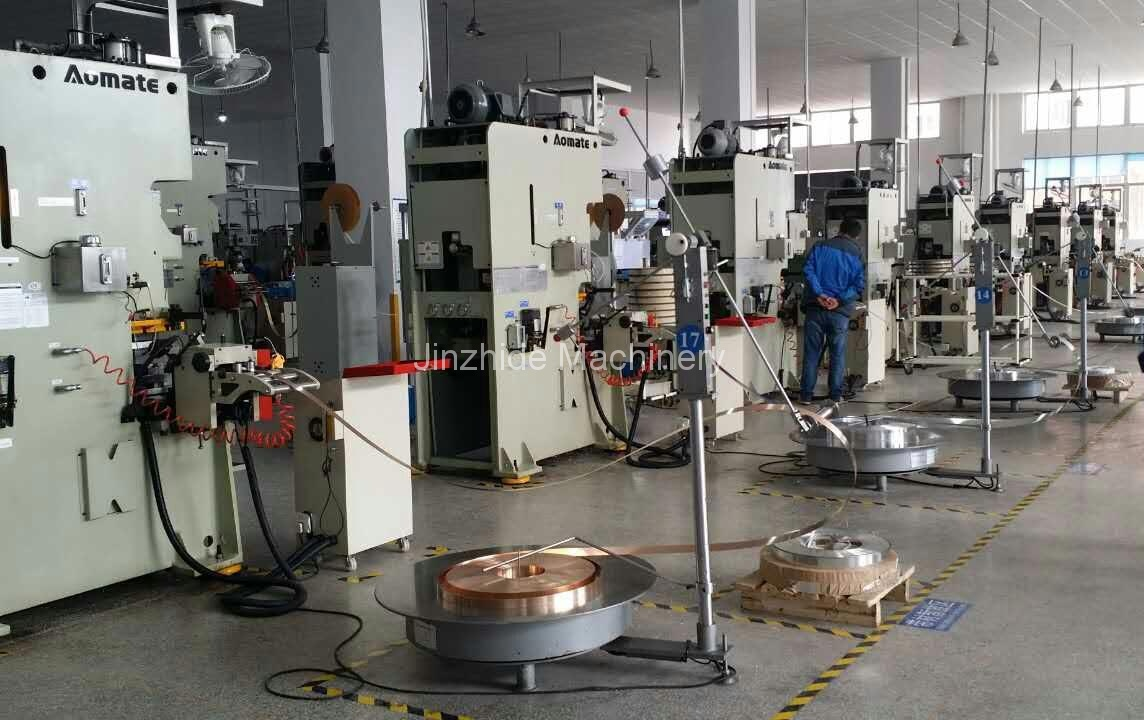 thin stamping automation production line