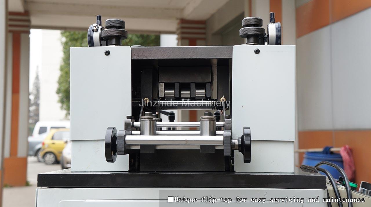 ultra-thin-plate-straightening-machine